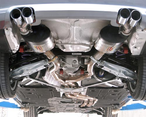 Complete Inspection for muffler and exhaust system
